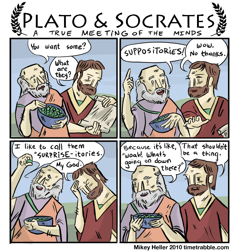 Time Trabble - Plato & Socrates