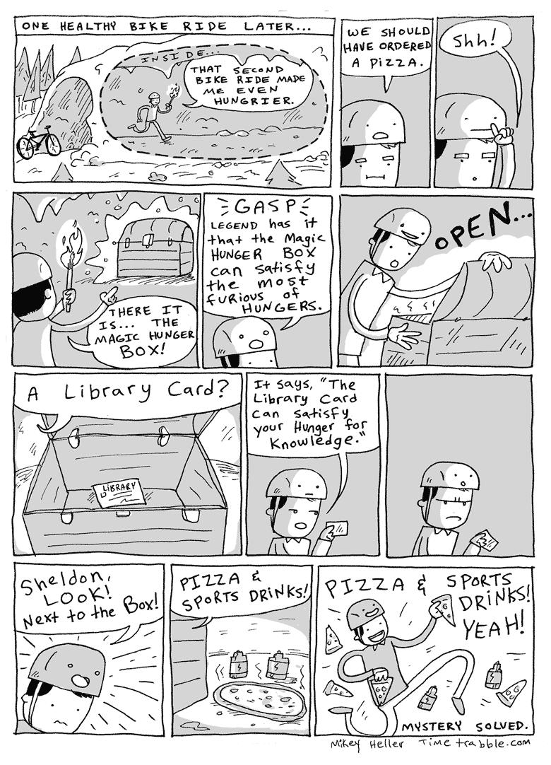 Sheldon & Helmet Part Two