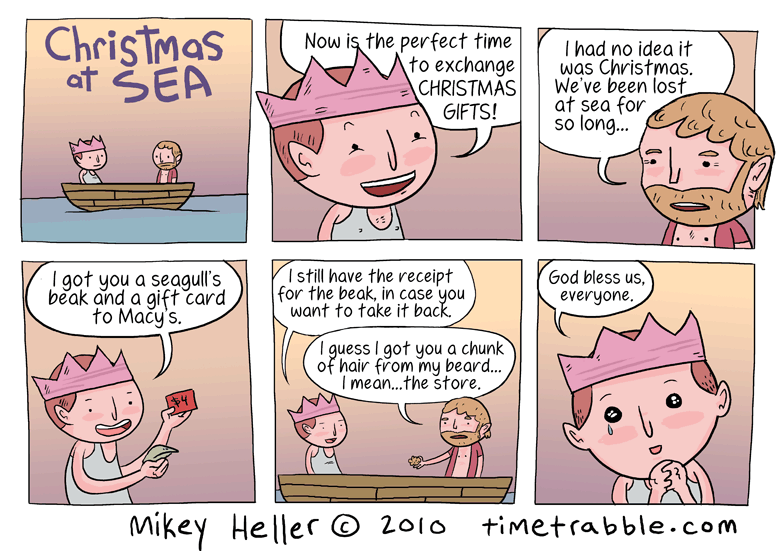 Christmas At Sea