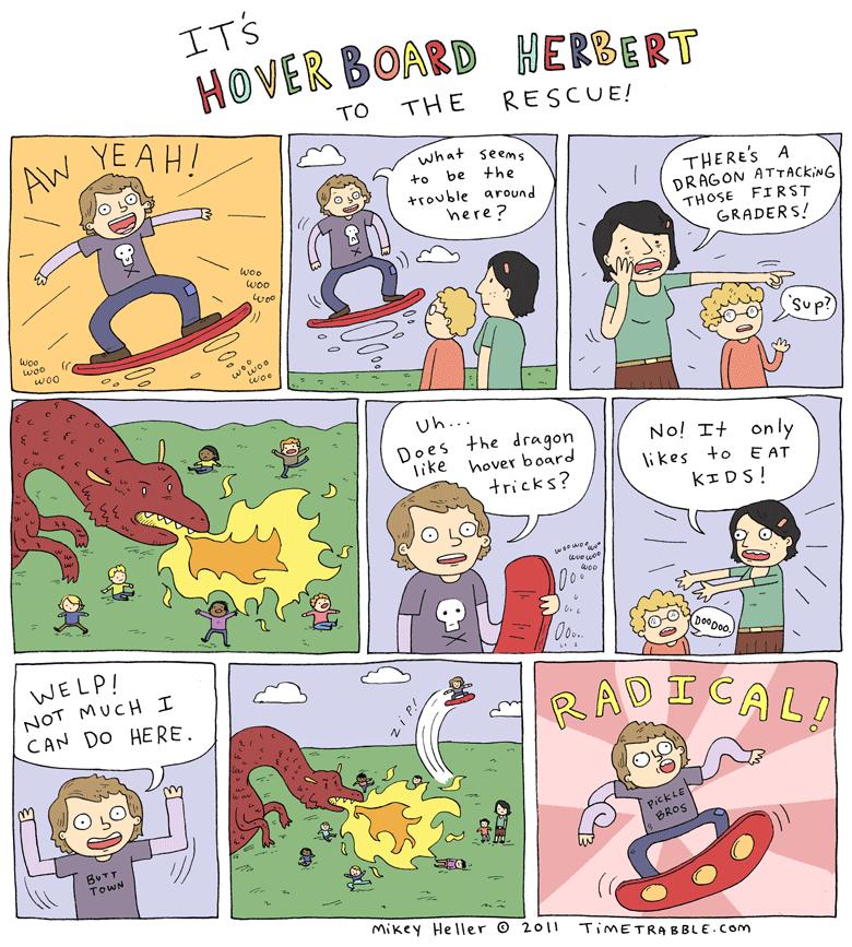 Hoverboard Herbert