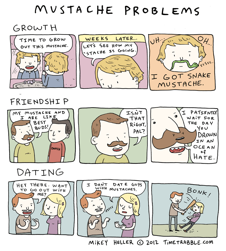 Mustache Problems