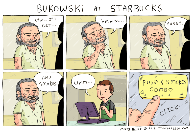 Bukowski At Starbucks