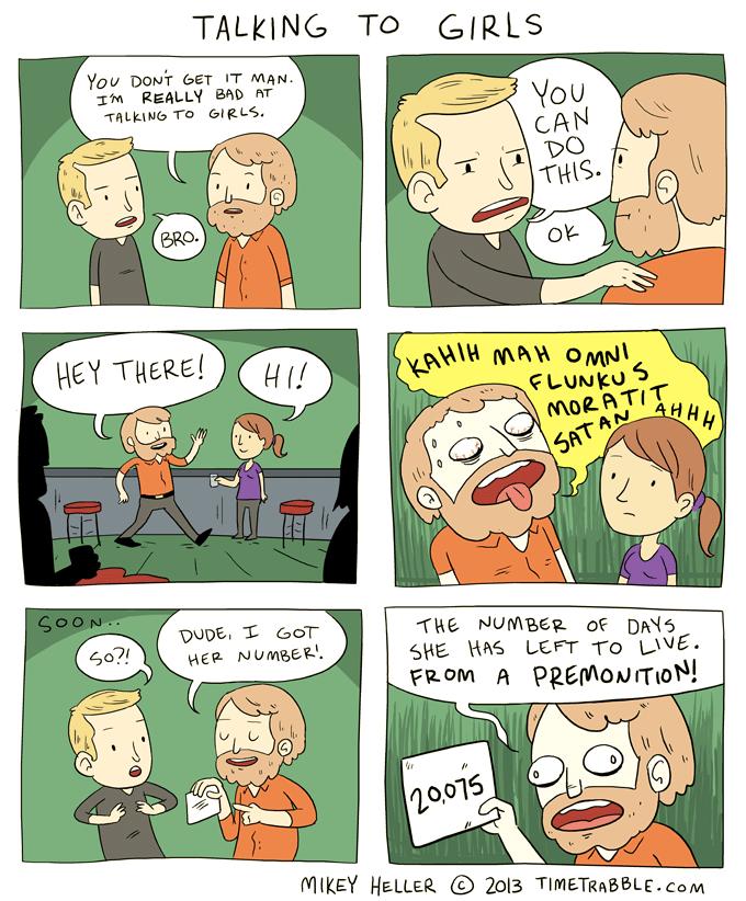 Talking To Girls