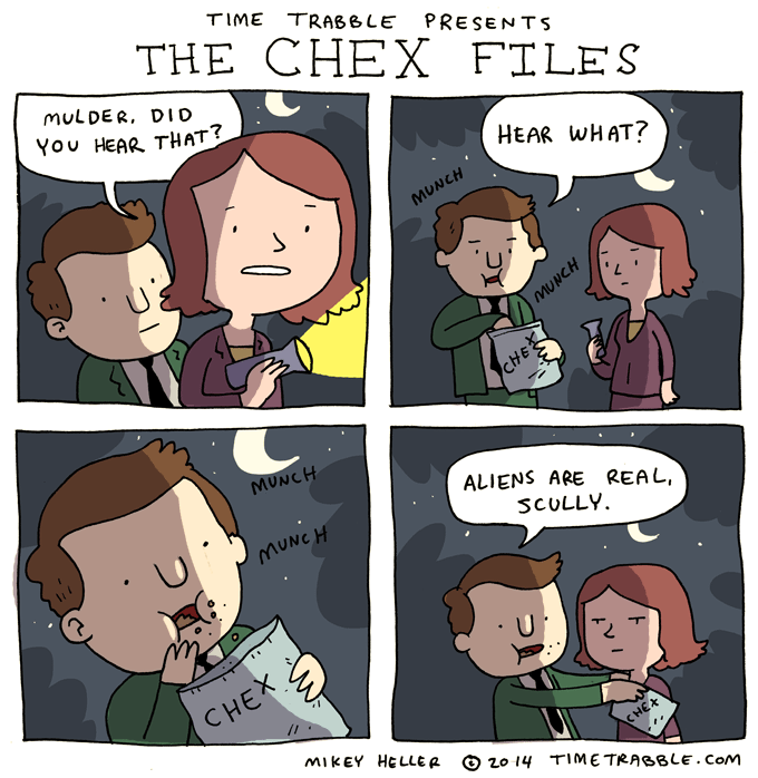 The Chex Files
