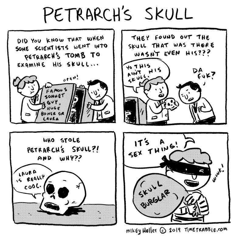 Petrarch's Skull