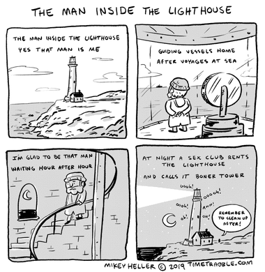 The Man Inside The Lighthouse