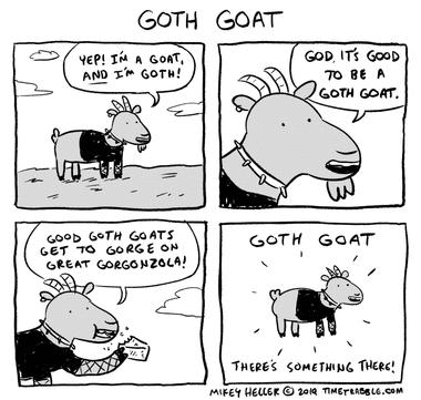 Goth Goat