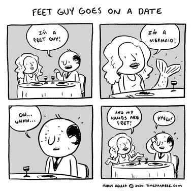 Feet Guy Goes On A Date