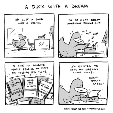 A Duck With A Dream