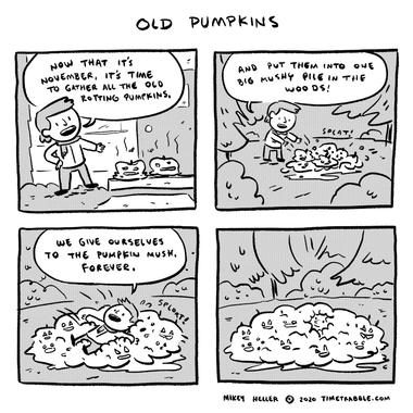 Old Pumpkins