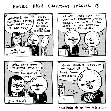 Bagel High Christmas Special 13
