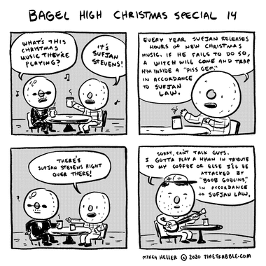 Bagel High Christmas Special 14