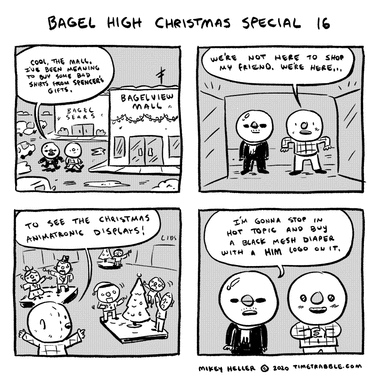 Bagel High Christmas Special 16