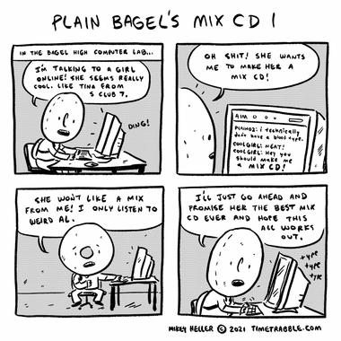 Plain Bagels Mix CD 1