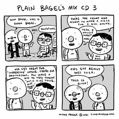 Plain Bagels Mix CD 3
