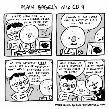 Plain Bagels Mix CD 4