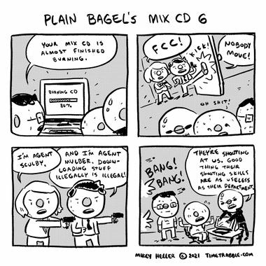 Plain Bagels Mix CD 6