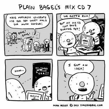 Plain Bagels Mix CD 7