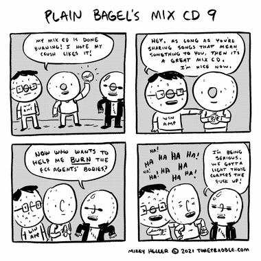 Plain Bagels Mix CD 9