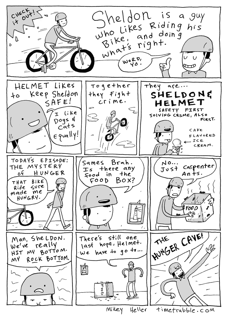 Sheldon & Helmet Part One