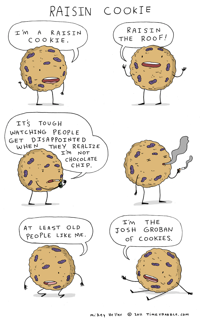 Raisin Cookie