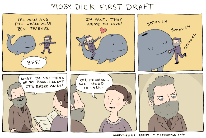 Moby Dick, First Draft