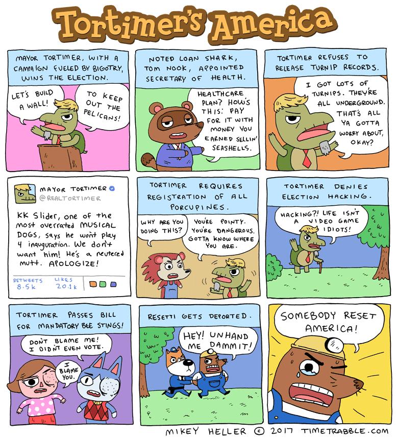 Tortimer's America