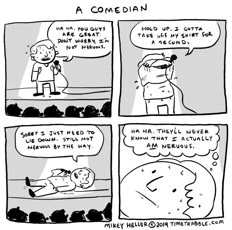 A Comedian