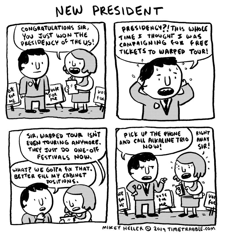 New President