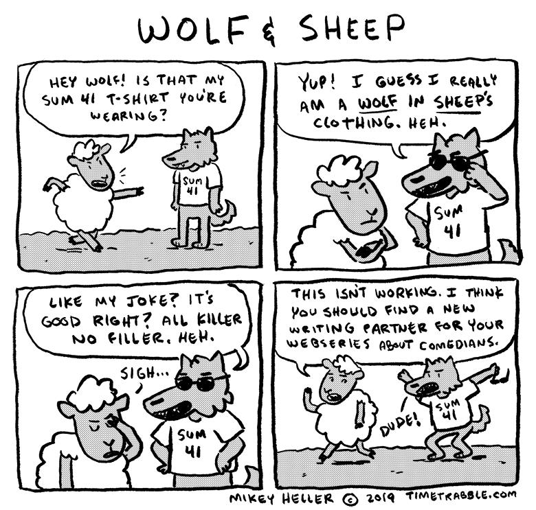 Wolf & Sheep