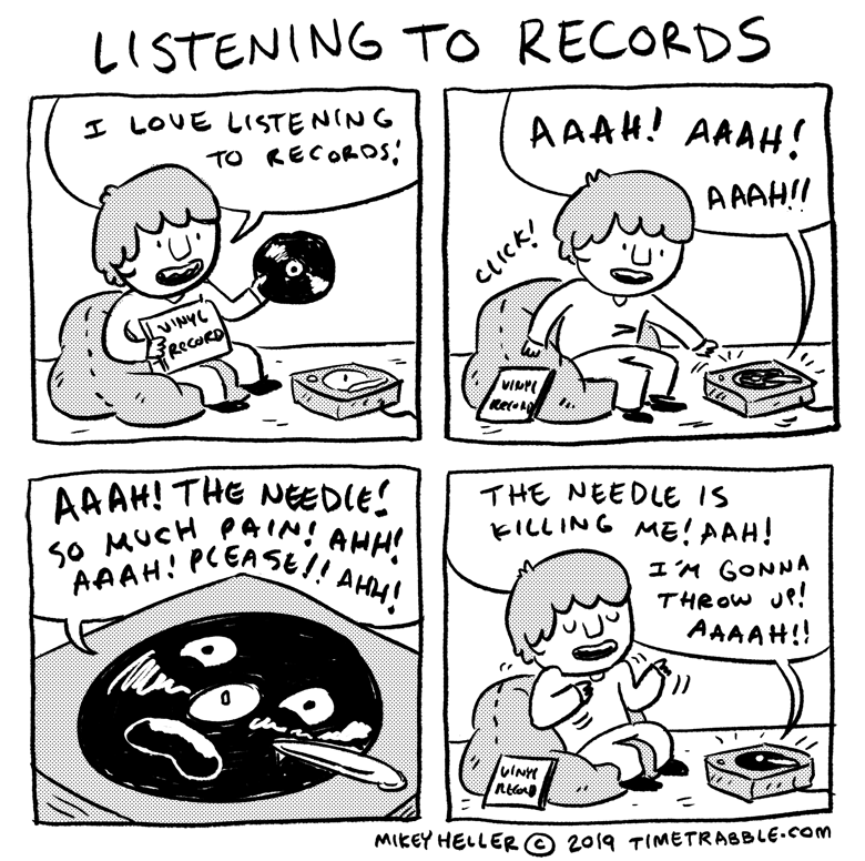 Listening To Records