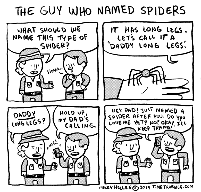 The Guy Who Named Spiders