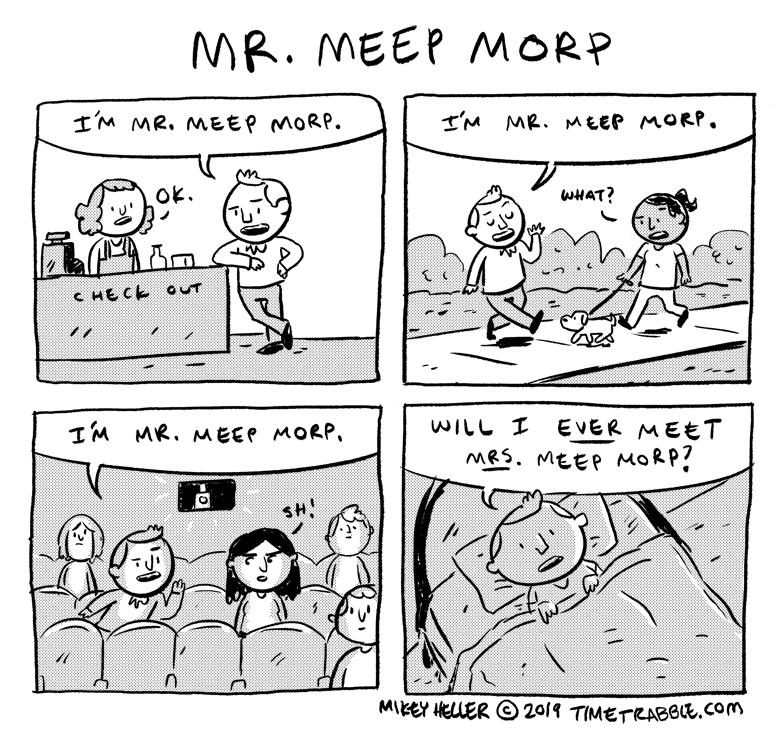 Mr Meep Morp