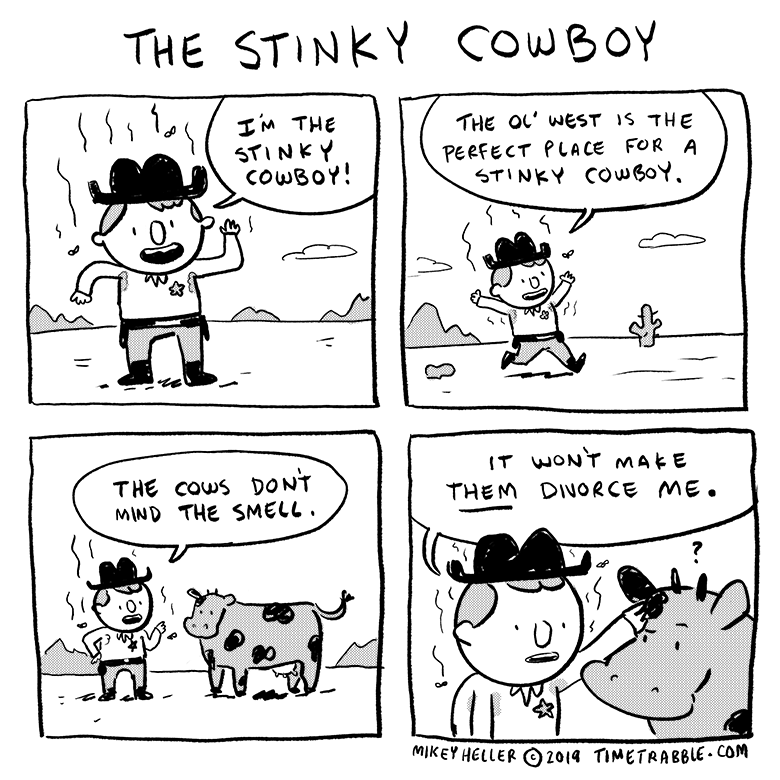 The Stinky Cowboy