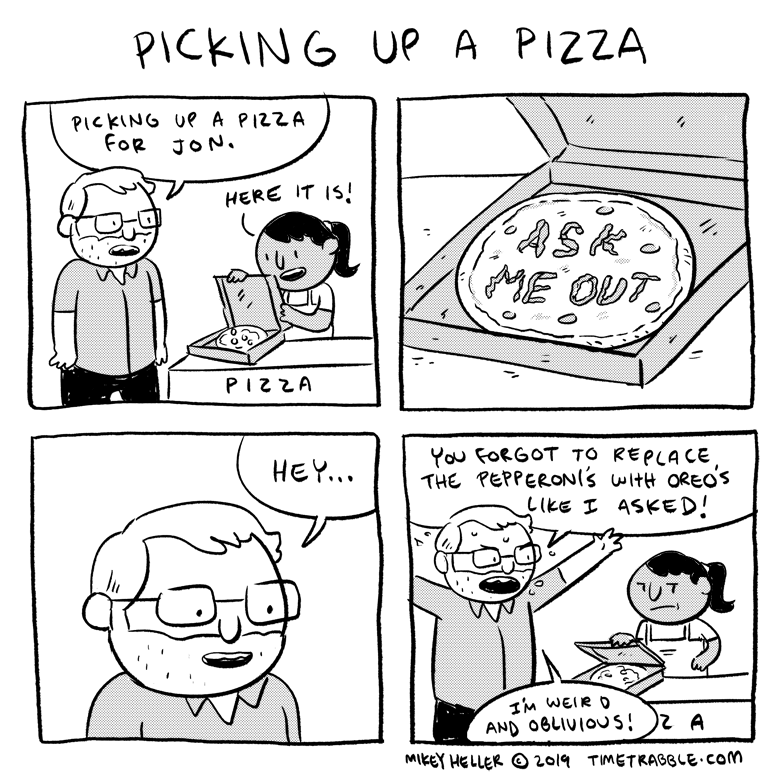 Picking Up A Pizza