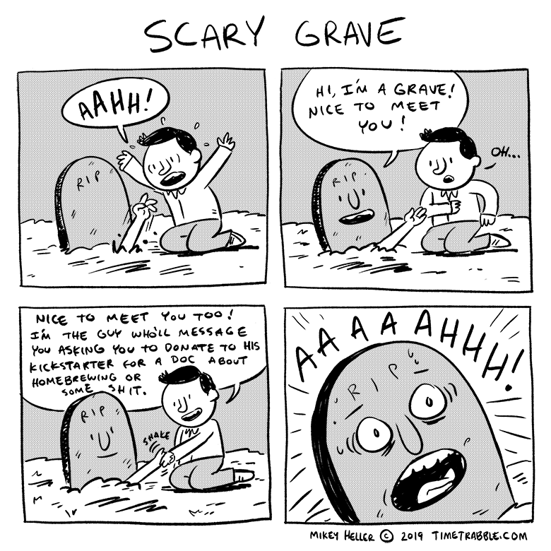 Scary Grave