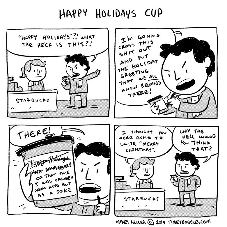 Happy Holidays Cup