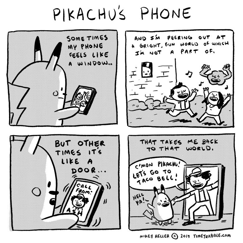 Pikachu's Phone