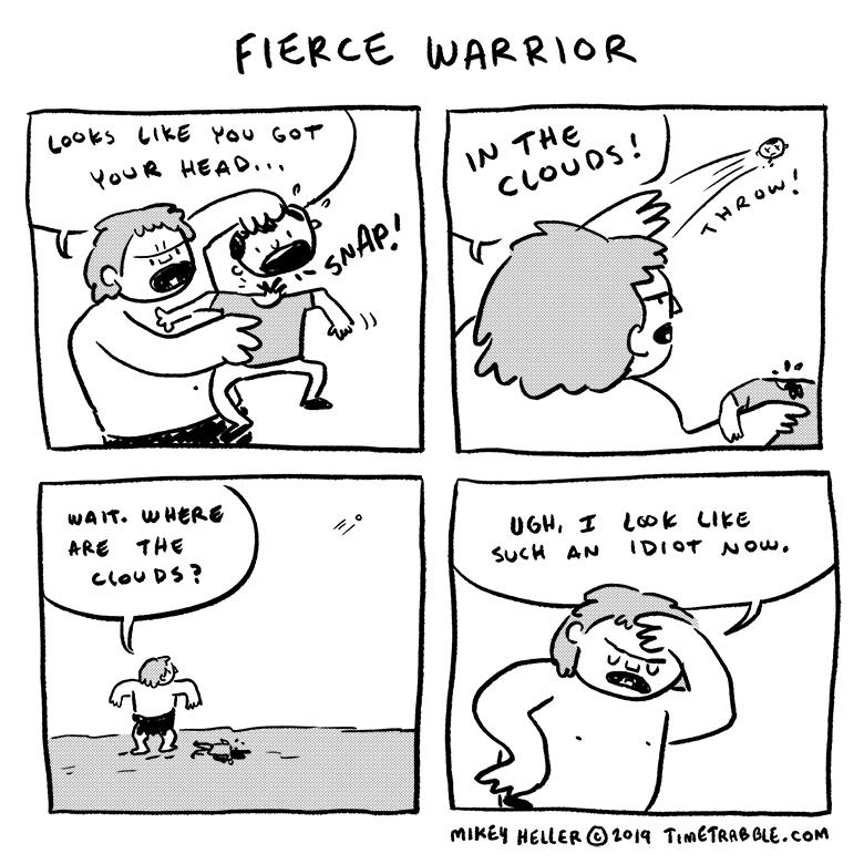 Fierce Warrior