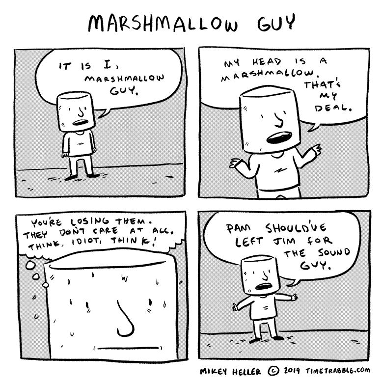 Marshmallow Guy