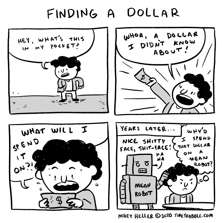 Finding A Dollar