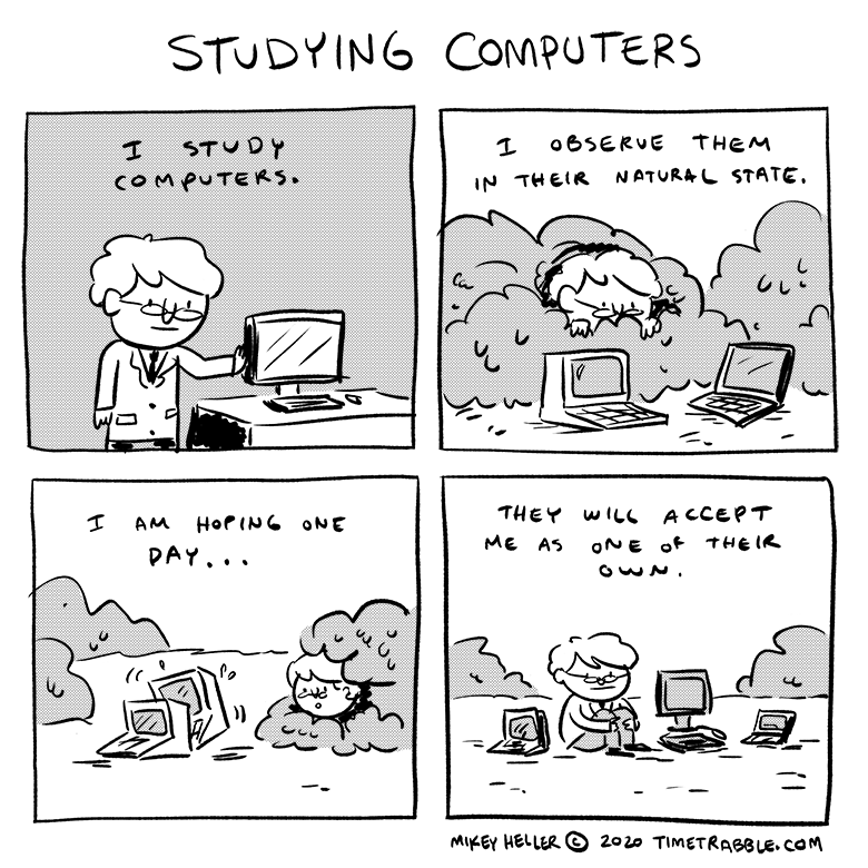Studying Computers