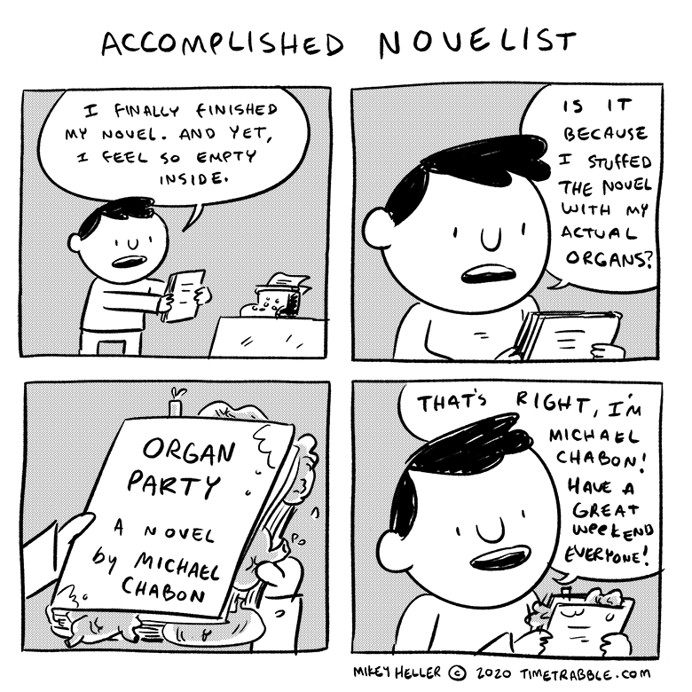 Accomplished Novelist