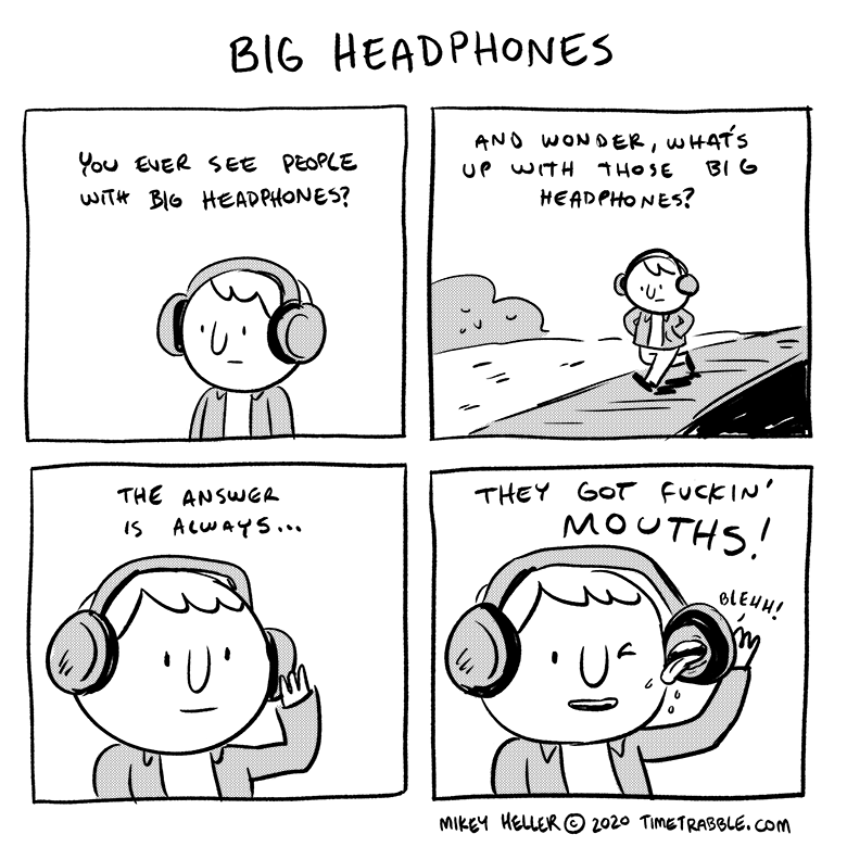 Big Headphones