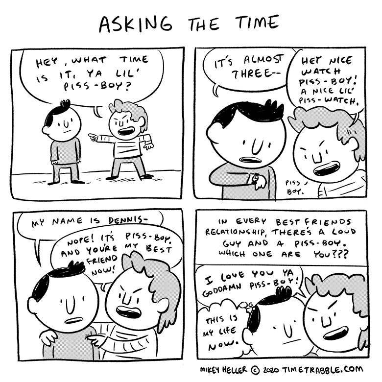 Asking The Time