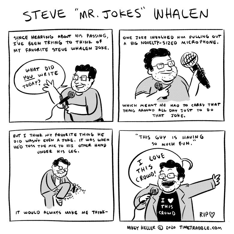 Steve 'Mr Jokes' Whalen