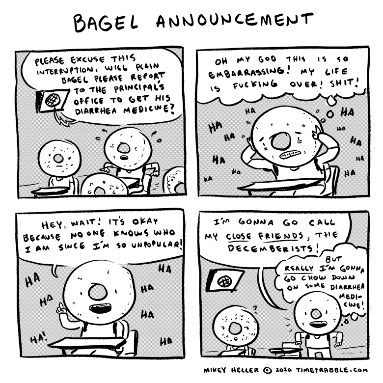 Bagel Announcement