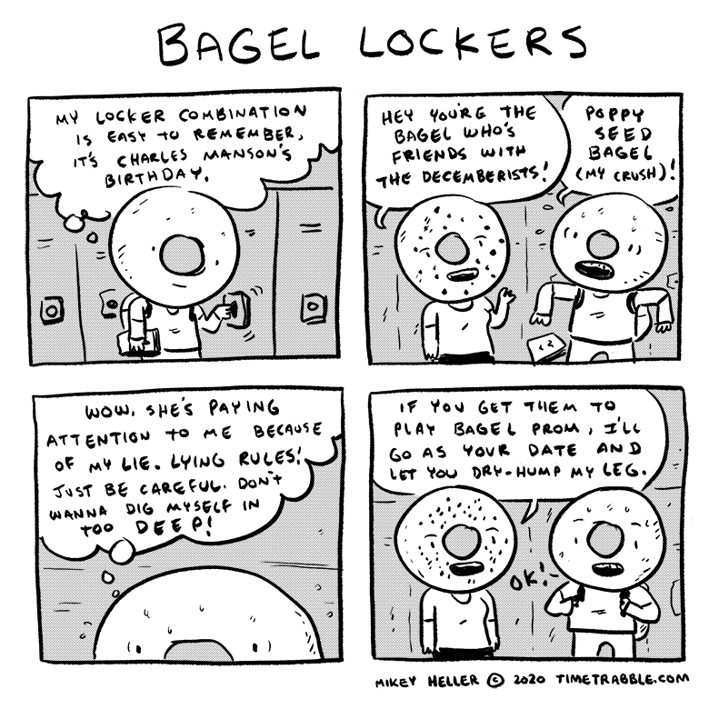 Bagel Lockers