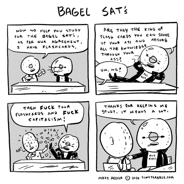 Bagel SAT's