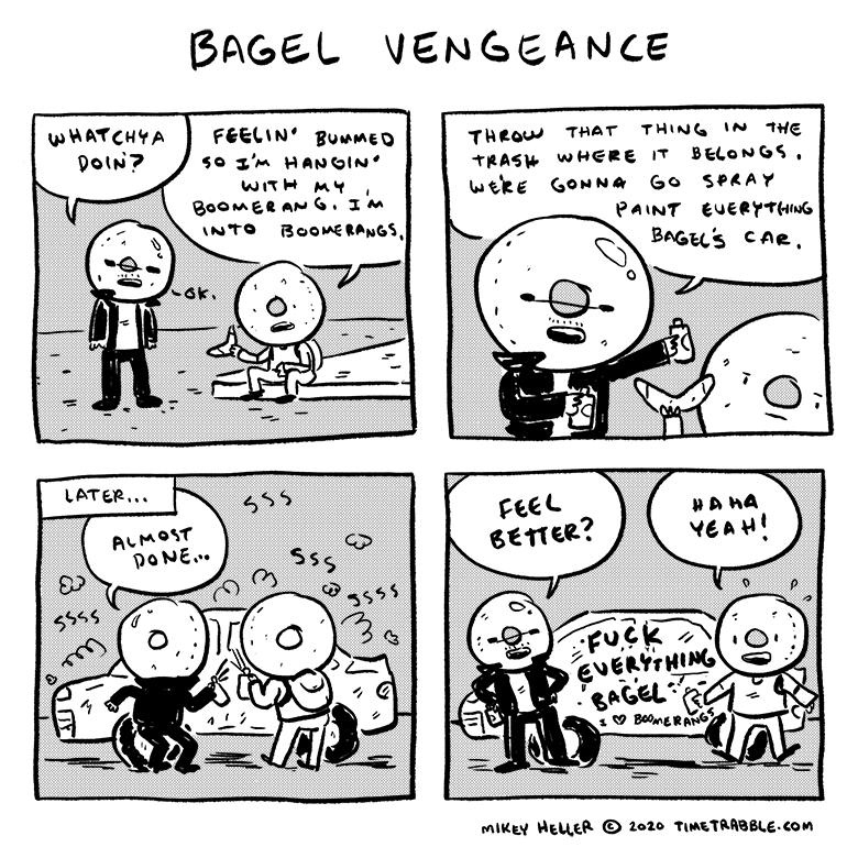 Bagel Vengeance